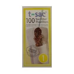 t-sac Teefilter, Grösse 1 (100 Stück)